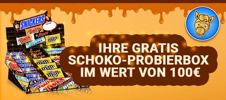 Gewinnspiel Schoko-Probierbox