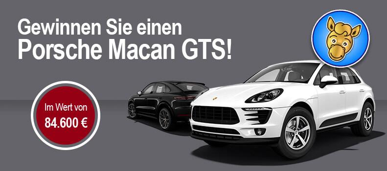 Gewinnen Sie einen Porsche Macan GTS