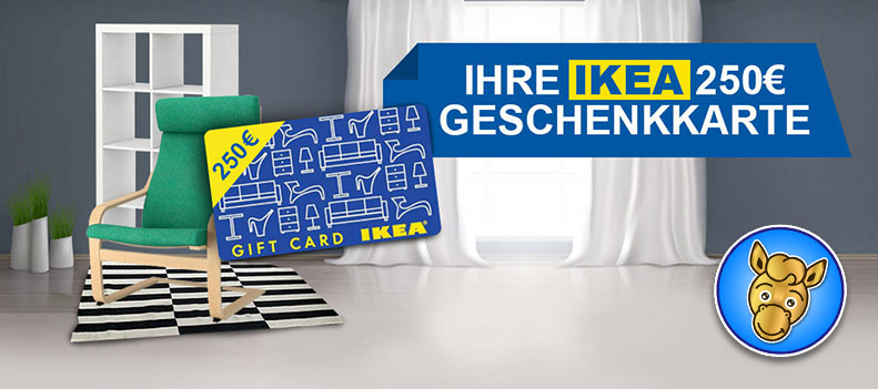 Gewinnspiel Ikea Geschenkkarte