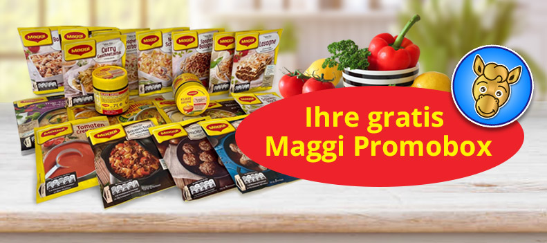 Gewinnspiel Maggi Promobox