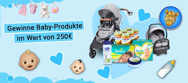 Gewinnspiel Baby-Produkt