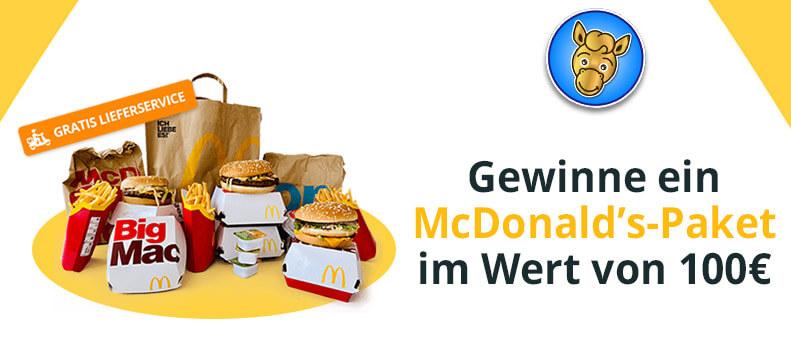 Gewinnspiel McDonald's